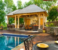 Eat and Dine in Outdoor Backyard Gazebo | Pergola Gazebos