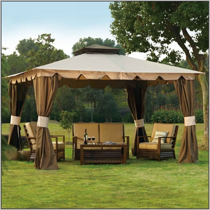 how to decorate house with gazebo patio