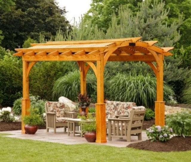 Garden Pergola Designs To Meet Your Needs