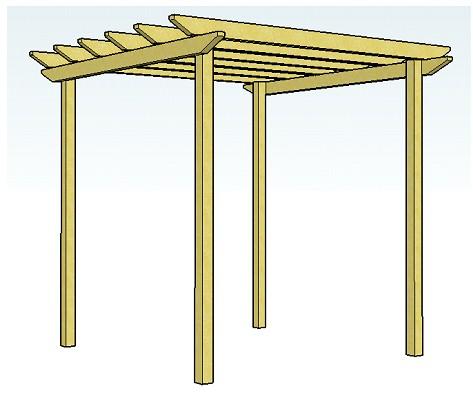 simple pergola designs