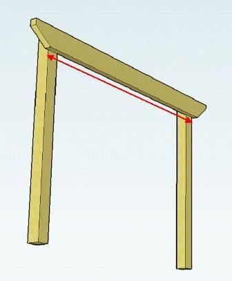 pergola beam span