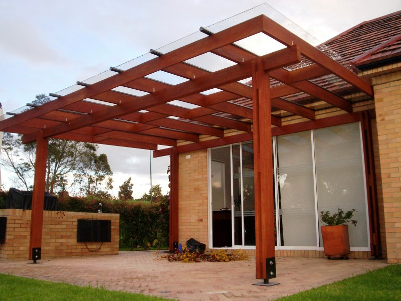 Pergola en madera jardines una prgola es un espacio para disfrutar deck y pergola en obra - Pergolas de madera fotos ...