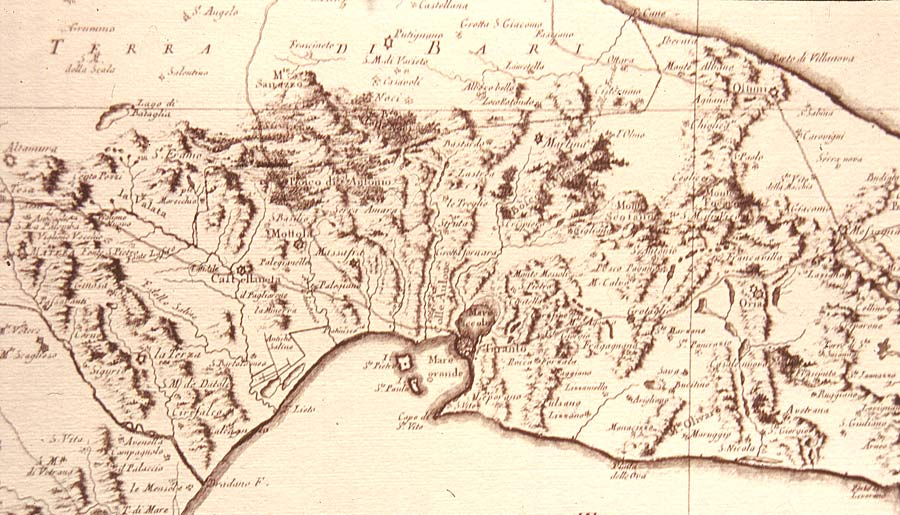 Atlante delle masserie del territorio tarantino