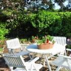 Le magnolia maison d'hôtes Dordogne : terrasse