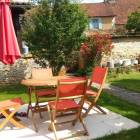 Maison Chaumont : terrasse