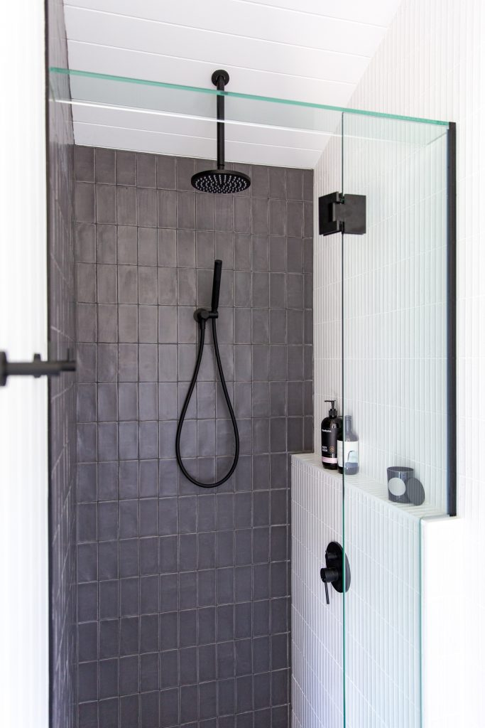 size tiles for a small bathroom