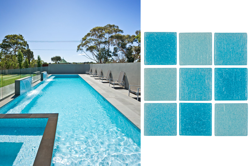 colour guide for your swimming pool