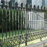 Types Of Traditional Metal Fencing Period Homes