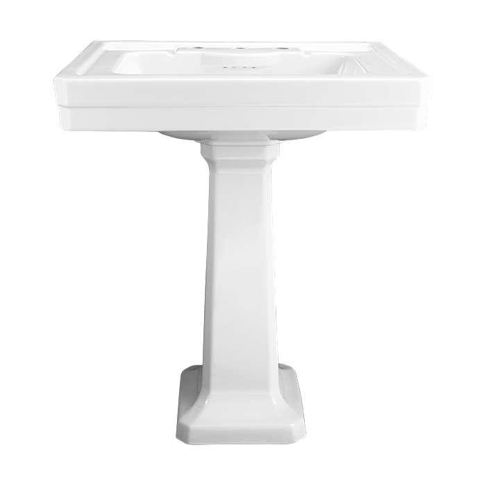 american standard fitzgerald 28 pedestal lavatory