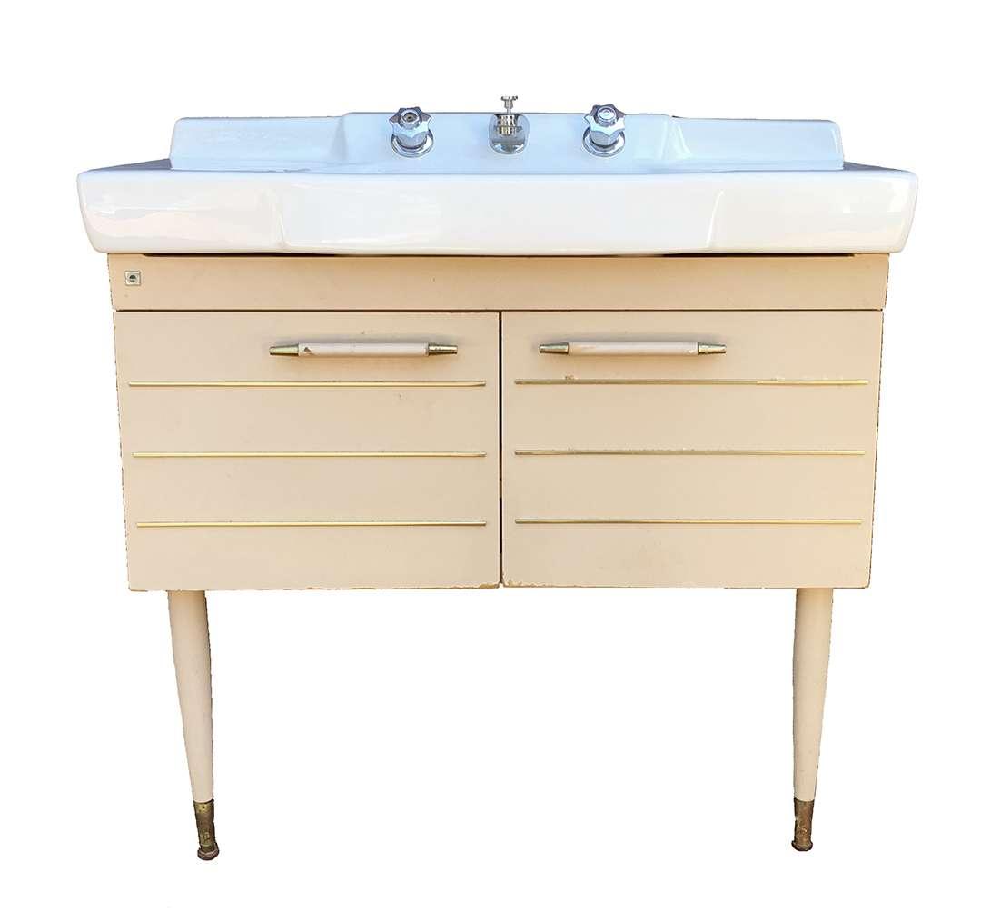 antique american standard vitreous china metal bathroom sink vanity
