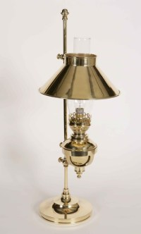 Captains Brass Table Lamp