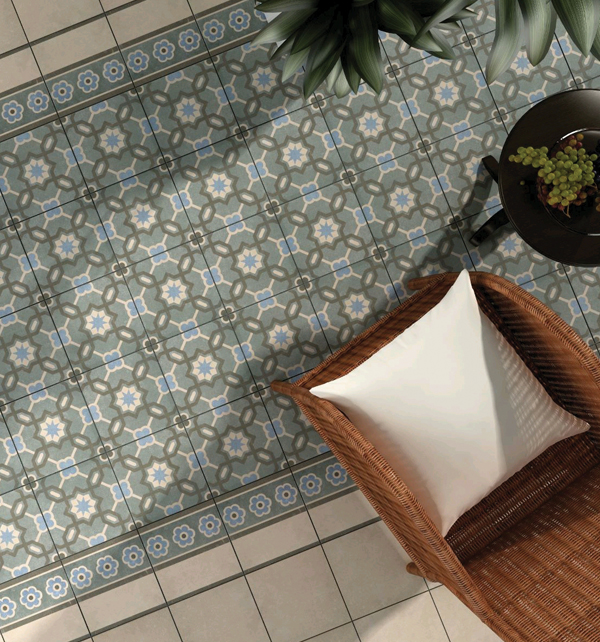 Moroccan Impressions Retro Floor Tiles