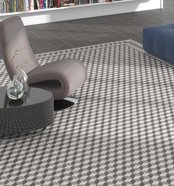 moroccan impressions vintage square floor tiles
