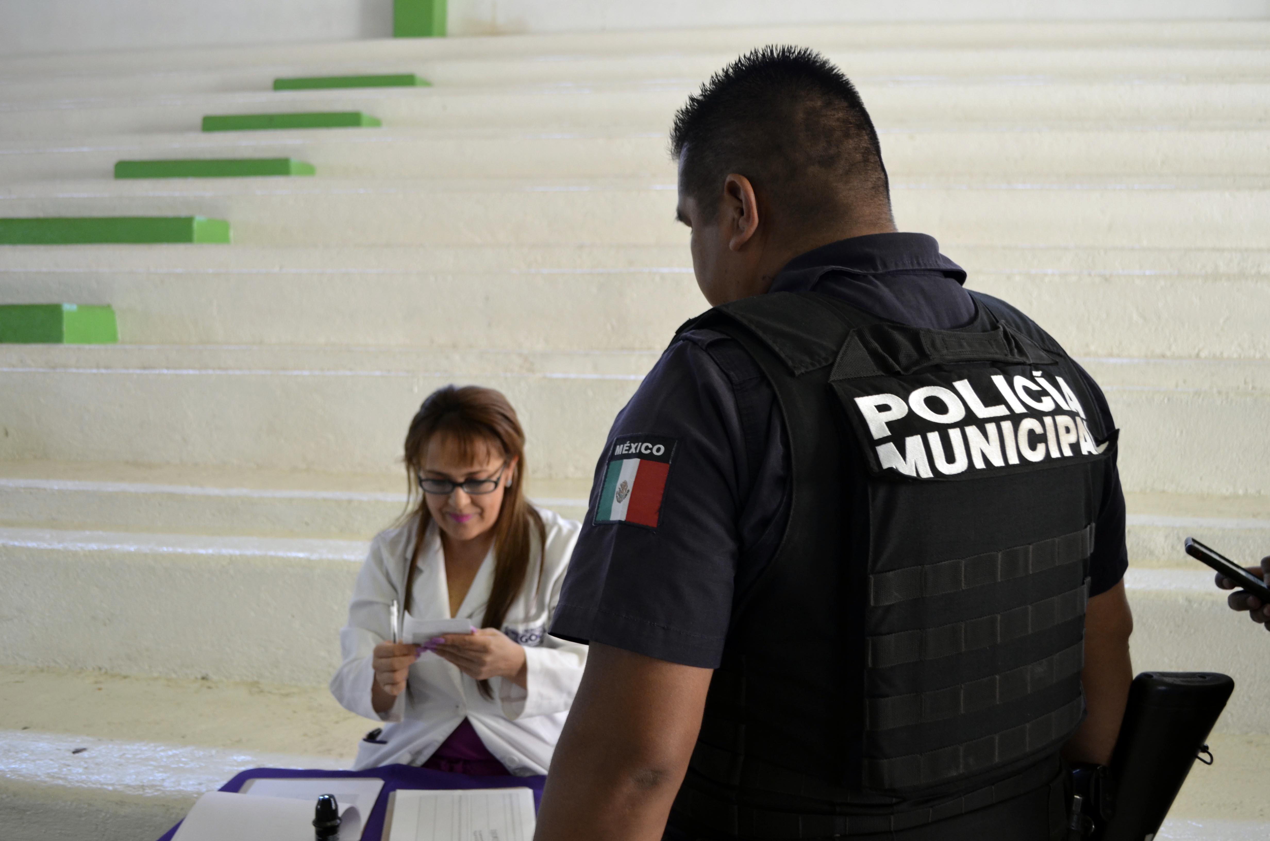Aplican antidoping a policías de Tequisquiapan