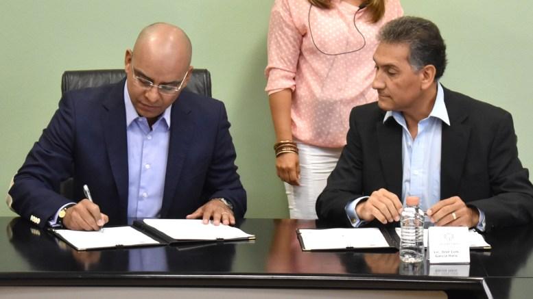 Signan convenio de colaboración Municipio de Querétaro y NAFIN