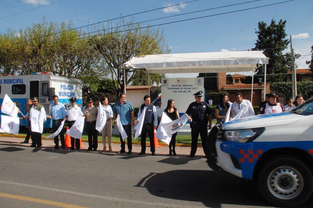 Arranca en Querétaro, operativo de seguridad por vacaciones de verano 2017