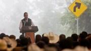 El Gobernador Francisco Domínguez anuncia 267 mdp para construir caminos en la Sierra de Querétaro