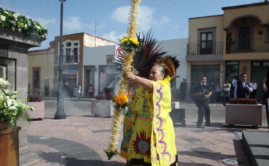 Se conmemora el 486 aniversario de la fundación de Querétaro