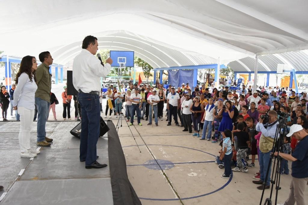 presidente municipal de Corregidora, encabezó la inauguración de laFeria #JuventudCorregidora 2017