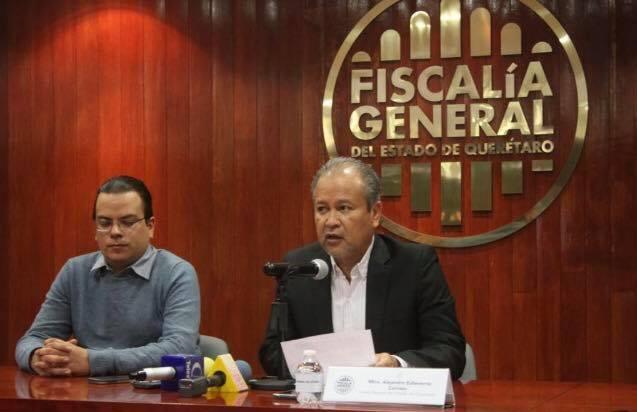 El Fiscal General de Querétaro, Alejandro Echeverría Cornejo informó sobre la detención de una banda de secuestradores que operaba en San Juan del Río, Querétaro.
