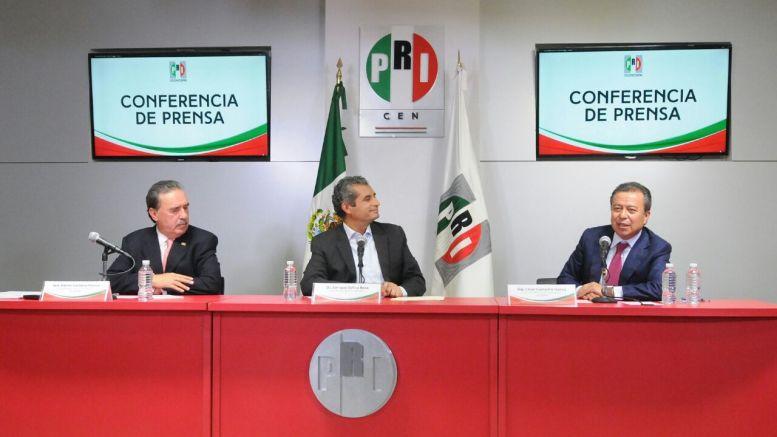 El PRI renuncia a 258 mdp de financiamiento público para destinarlo a afectados por sismos. Foto: Especial.