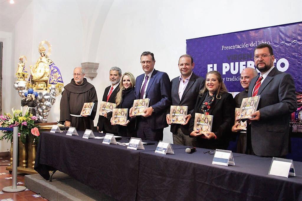 """Mauricio Kuri encabeza presentación del libro """"Memoria fotográfica: Virgen de El Pueblito, culto y tradición en Corregidora"""""""