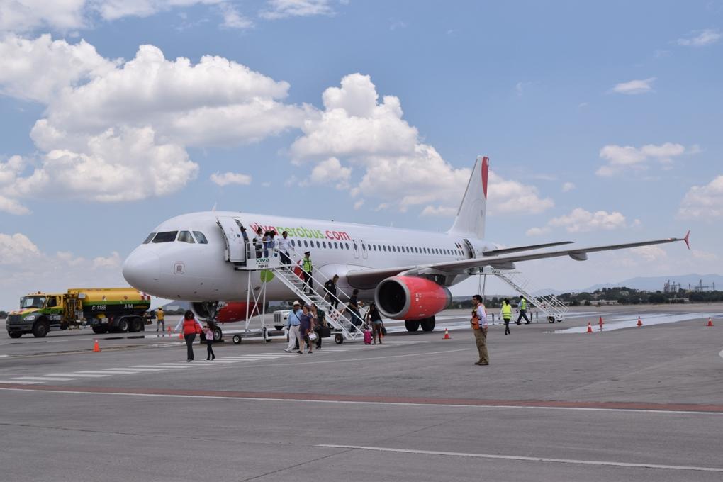 La línea Aérea Viva Aerobús llega a Querétaro.