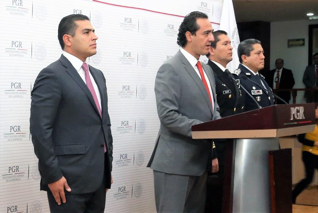 """El encargado de Despacho de la PGR, Alberto Elias Beltrán, dio a conocer que la detención de """"el Tortillero"""""""