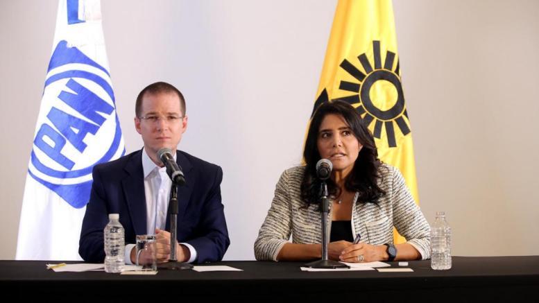 PAN, PRD y Movimiento Ciudadano irán en coalición en elecciones del 2018