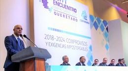 Marcos Aguilar Vega destaca crecimiento económico del Municipio de Querétaro