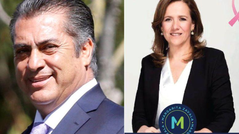 """""""El Bronco"""" y Margarita Zavala encabezan recolección de firmas como independientes"""