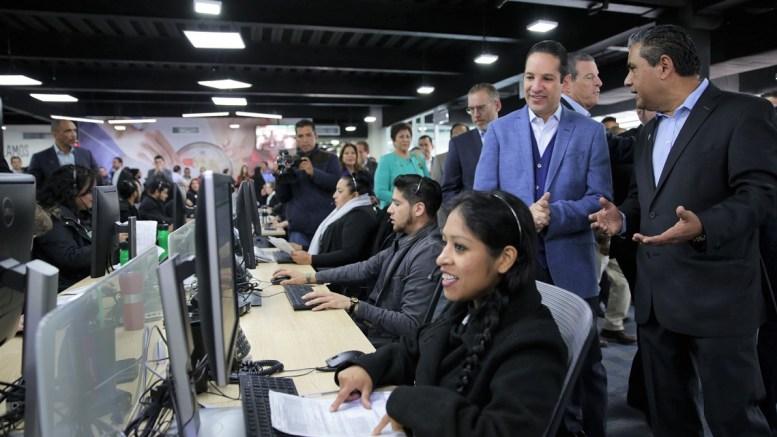 El Gobernador Francisco Domínguez encabeza inauguración del Call Center de Herbalife, con una inversión de 48 mdp