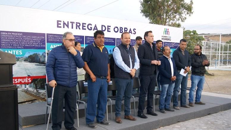 En lo que va de 2018, suman 110 mdp de inversión en obra pública para la Negreta