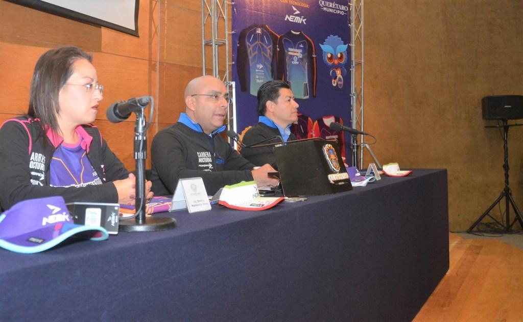 """El Alcalde de la Capital, Marcos Aguilar Vega, encabezó la presentación de la convocatoria parala octava edición de la """"Carrera Nocturna Powerade"""" en su versión 2018."""