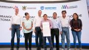 Aununcia el Gobernador inversión de 10.7 mdp para mejorar el servicio de Agua Potable en El Marqués