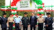 El Gobernador Francisco Domínguez acude a la conmemoración del Día del Ejército Mexicano