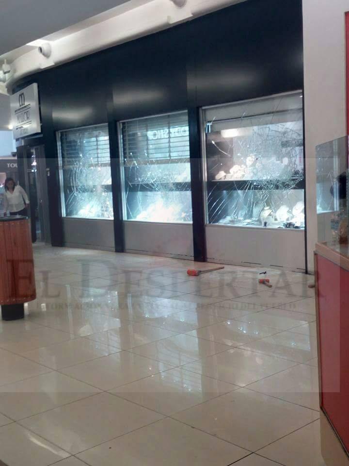 """42170a4643a1 Perpetran robo en la """"Joyería Mallor"""" - El Despertar"""