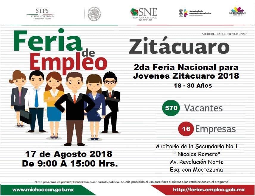 Se Ofertaran Mas De 500 Empleos En Zitacuaro El Despertar