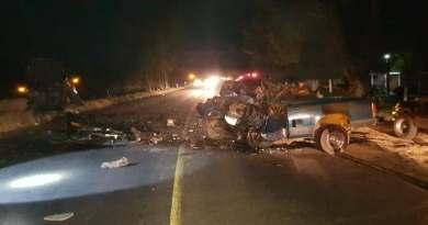 Trágico accidente deja 3 muertos y dos lesionados graves, en Peribán