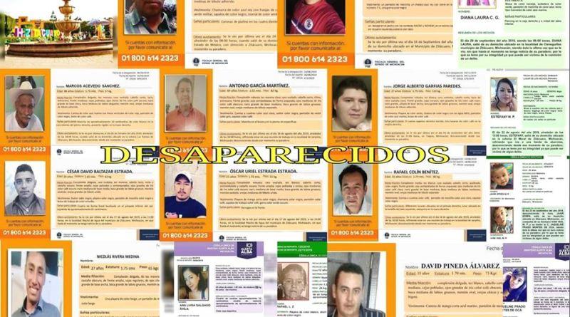 Nuevos sitios de búsqueda de desaparecidos