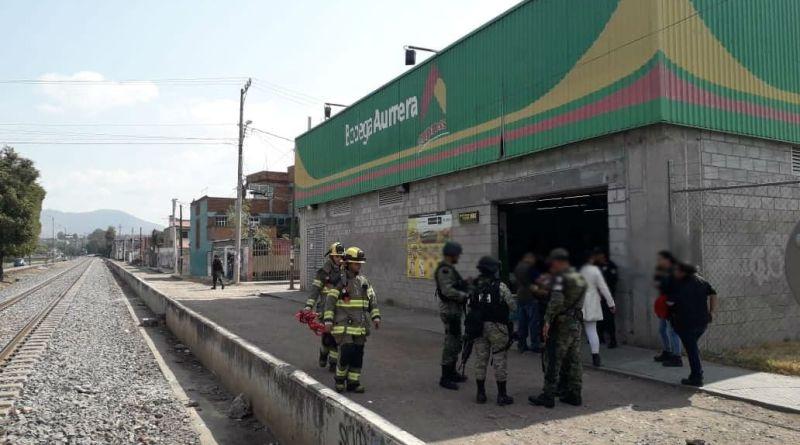 Amenaza de bomba en un Aurrera moviliza a corporaciones policiales y de rescate en Morelia