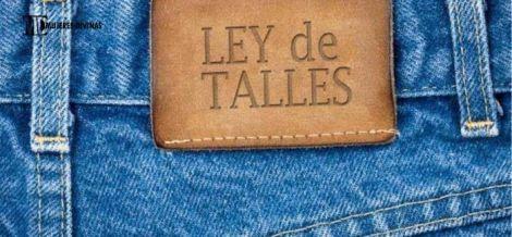 jean etiqueta Ley de Talles Reales