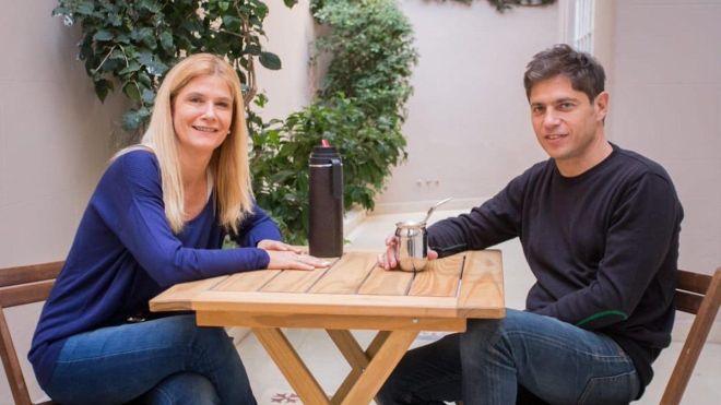 Verónica Magario y Axel Kicillof