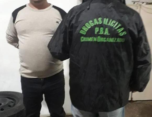 Berazategui: detuvieron a un hombre con 7 kilos de droga