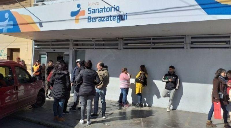 mala praxis en el Nuevo Sanatorio Berazategui