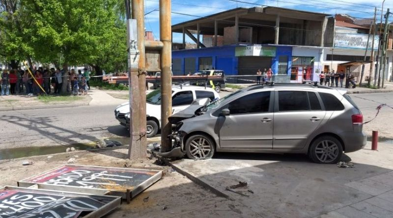 Accidente en Solano