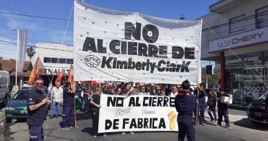 Marcha de Kimberly Clark Bernal