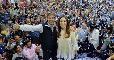 """Para María Eugenia Vidal, """"el domingo se elige si vamos a tener democracia o no"""""""