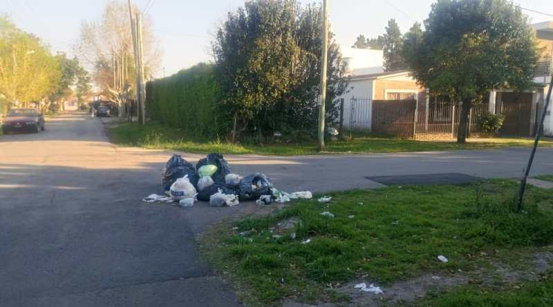 Recolección de residuos en Berazategui
