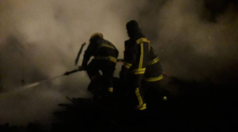 Incendio trágico en Varela